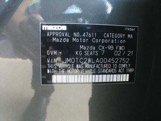 2021 Mazda CX-9 TC Sport SKYACTIV-Drive Machine Grey 6 Speed Sports Automatic Wagon