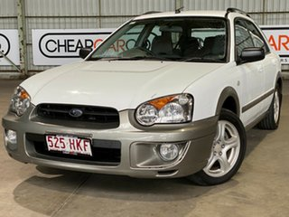 2003 Subaru Impreza S MY03 RV AWD White 5 Speed Manual Hatchback.