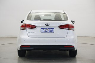 2017 Kia Cerato YD MY18 S Snow White Pearl 6 Speed Sports Automatic Sedan