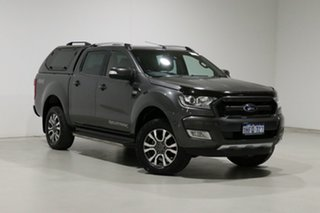 2017 Ford Ranger PX MkII MY17 Update Wildtrak 3.2 (4x4) Grey 6 Speed Automatic Dual Cab Pick-up.