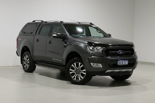 Used Ford Ranger PX MkII MY17 Update Wildtrak 3.2 (4x4) Bentley, 2017 Ford Ranger PX MkII MY17 Update Wildtrak 3.2 (4x4) Grey 6 Speed Automatic Dual Cab Pick-up