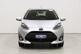 2018 Toyota Prius c NHP10R MY17 Hybrid Silver Continuous Variable Hatchback.