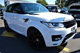 2014 Land Rover Range Rover Sport L494 MY15 HSE Dynamic White 8 Speed Sports Automatic Wagon.