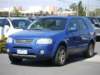 2008 Ford Territory SY Ghia Blue Sports Automatic Wagon.