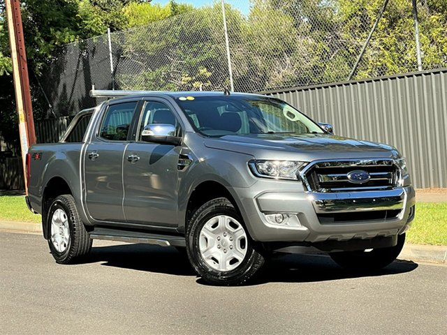Used Ford Ranger PX MkII XLT Double Cab Hyde Park, 2015 Ford Ranger PX MkII XLT Double Cab Silver 6 Speed Sports Automatic Utility