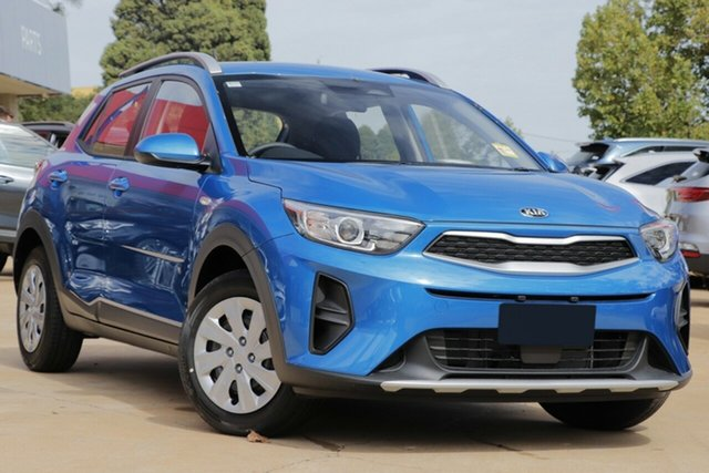 New Kia Stonic YB MY21 S FWD St Marys, 2021 Kia Stonic YB MY21 S FWD Sporty Blue 6 Speed Manual Wagon