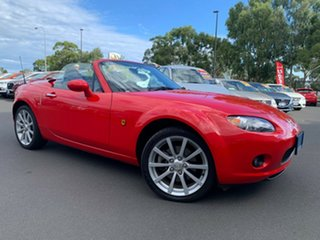 2007 Mazda MX-5 NC30F1 MY07 Roadster Coupe Red 6 Speed Manual Hardtop.