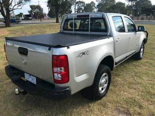 2016 Holden Colorado RG MY16 LS (4x4) Silver 6 Speed Automatic Crew Cab Pickup