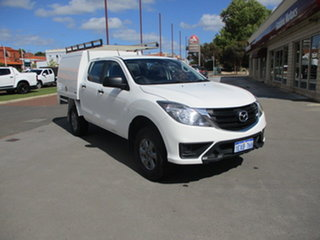 2018 Mazda BT-50 XT Hi-Rider (4x2) White 6 Speed Automatic Dual Cab