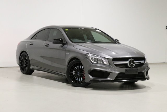 Used Mercedes-Benz CLA45 117 AMG Bentley, 2014 Mercedes-Benz CLA45 117 AMG Grey 7 Speed Automatic Coupe