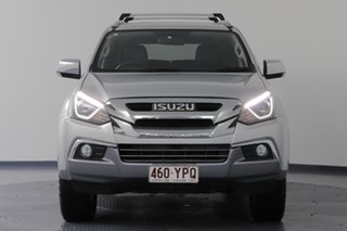 2018 Isuzu MU-X UC MY17 LS-T (4x4) Silver 6 Speed Auto Sequential Wagon