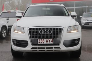 2010 Audi Q5 8R MY11 TFSI S Tronic Quattro White 7 Speed Sports Automatic Dual Clutch Wagon.