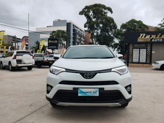 2017 Toyota RAV4 GX White Sports Automatic Wagon.