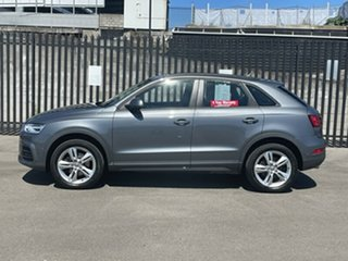 2017 Audi Q3 8U MY17 TDI S Tronic Quattro Grey 7 Speed Sports Automatic Dual Clutch Wagon