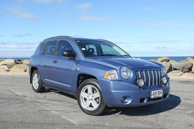 Used Jeep Compass MK Sport Lonsdale, 2007 Jeep Compass MK Sport Blue 5 Speed Manual Wagon