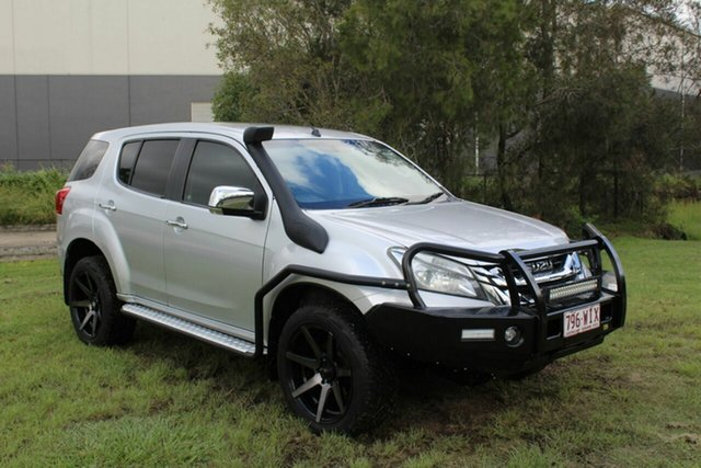 Used Isuzu MU-X MY15 LS-U Rev-Tronic Ormeau, 2015 Isuzu MU-X MY15 LS-U Rev-Tronic White 5 Speed Sports Automatic Wagon