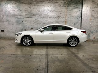 2014 Mazda 6 GJ1031 GT SKYACTIV-Drive White 6 Speed Sports Automatic Sedan