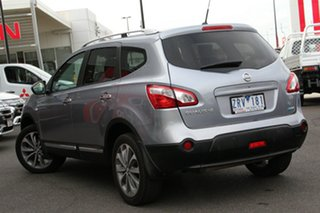 2013 Nissan Dualis J107 Series 3 MY12 +2 Hatch X-tronic 2WD Ti Grey 6 Speed Constant Variable.