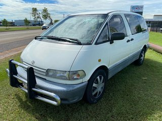 2000 Toyota Tarago TCR10R Getaway II White 5 Speed Manual Wagon.