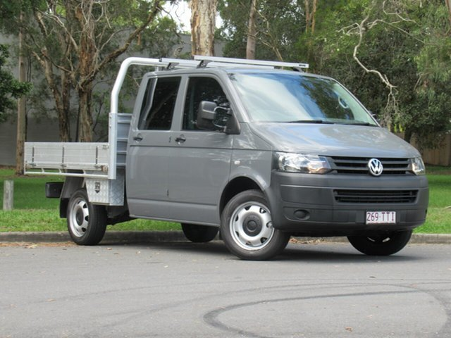 Used Volkswagen Transporter T5 MY13 TDI400 LWB, 2013 Volkswagen Transporter T5 MY13 TDI400 LWB Grey 6 Speed Manual Cab Chassis