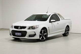 2017 Holden Ute VF II MY17 SV6 White 6 Speed Automatic Utility.