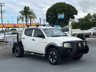 2008 Mitsubishi Triton ML GLX White 5 Speed Manual Utility.