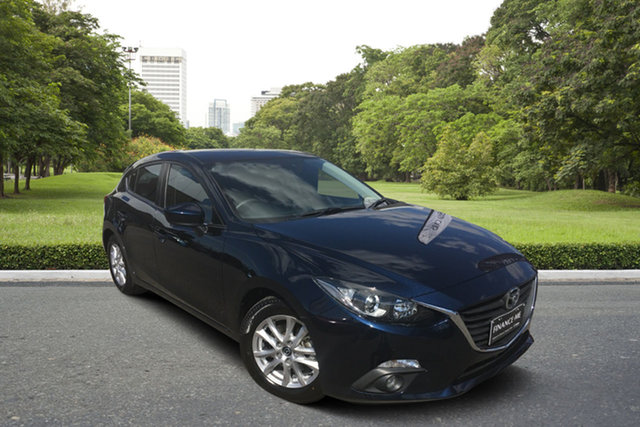 Used Mazda 3 BM5476 Touring SKYACTIV-MT Paradise, 2015 Mazda 3 BM5476 Touring SKYACTIV-MT Blue 6 Speed Manual Hatchback