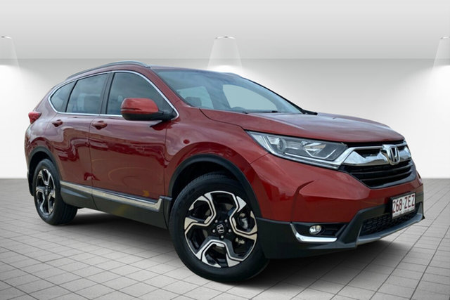 Used Honda CR-V RW MY20 VTi-S 4WD Hervey Bay, 2019 Honda CR-V RW MY20 VTi-S 4WD Red 1 Speed Constant Variable Wagon