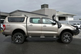 2015 Ford Ranger PX XLT Double Cab Gold 6 Speed Sports Automatic Utility.