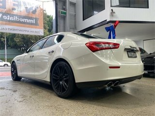 2016 Maserati Ghibli M157 Pearl White Sports Automatic Sedan