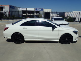 2016 Mercedes-Benz CLA200 117 Edition One Polar White 7 Speed Automatic Coupe
