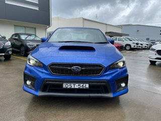 2017 Subaru WRX V1 MY17 Premium AWD Blue 6 Speed Manual Sedan.