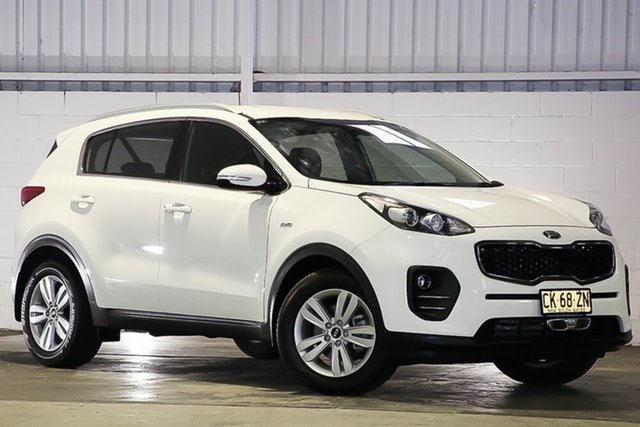 Used Kia Sportage QL MY17 Si AWD West Gosford, 2016 Kia Sportage QL MY17 Si AWD White 6 Speed Sports Automatic Wagon