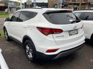 2016 Hyundai Santa Fe DM3 MY16 Active White 6 Speed Manual Wagon.