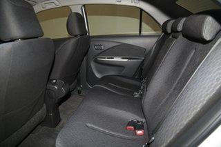 2012 Toyota Yaris NCP93R MY11 YRS White 4 Speed Automatic Sedan