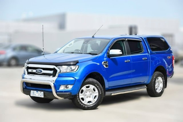 Used Ford Ranger PX MkII XLT Double Cab Pakenham, 2017 Ford Ranger PX MkII XLT Double Cab Blue 6 Speed Sports Automatic Utility