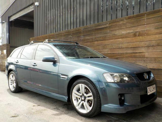 Used Holden Commodore VE MY09.5 SV6 Sportwagon Labrador, 2009 Holden Commodore VE MY09.5 SV6 Sportwagon Blue 5 Speed Sports Automatic Wagon