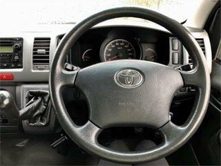 2009 Toyota HiAce KDH201R White 5 Speed Manual Van