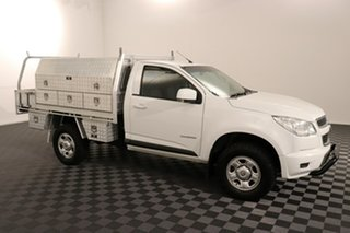 2016 Holden Colorado RG MY16 LS 4x2 White 6 speed Automatic Cab Chassis