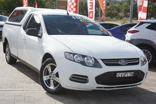 2014 Ford Falcon FG MkII EcoLPi Ute Super Cab White 6 Speed Automatic Utility.