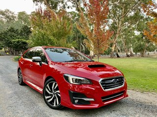 2018 Subaru Levorg V1 MY18 2.0 GT-S CVT AWD Pure Red 8 Speed Constant Variable Wagon.