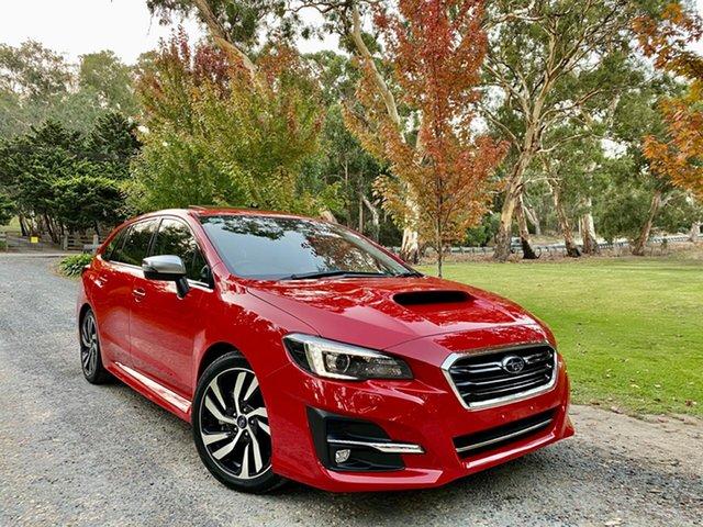 Used Subaru Levorg V1 MY18 2.0 GT-S CVT AWD Reynella, 2018 Subaru Levorg V1 MY18 2.0 GT-S CVT AWD Pure Red 8 Speed Constant Variable Wagon