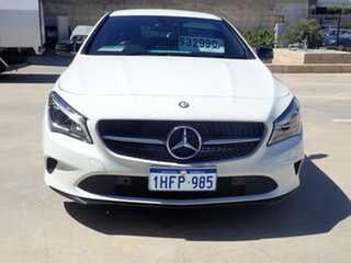 2016 Mercedes-Benz CLA200 117 Edition One Polar White 7 Speed Automatic Coupe.