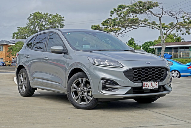 Used Ford Escape ZH 2020.75MY ST-Line Capalaba, 2020 Ford Escape ZH 2020.75MY ST-Line Silver 8 Speed Sports Automatic SUV