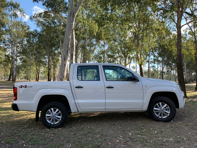 Demo Volkswagen Amarok 2H MY21 TDI420 4MOTION Perm Core North Rockhampton, 2020 Volkswagen Amarok 2H MY21 TDI420 4MOTION Perm Core Candy White 8 Speed Automatic Utility