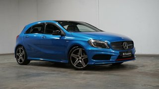 2015 Mercedes-Benz A-Class W176 805+055MY A250 D-CT Sport Blue 7 Speed Sports Automatic Dual Clutch.