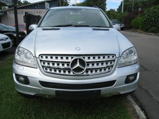 2008 Mercedes-Benz ML280 CDI W164 08 Upgrade Luxury (4x4) Silver 7 Speed Automatic G-Tronic Wagon.