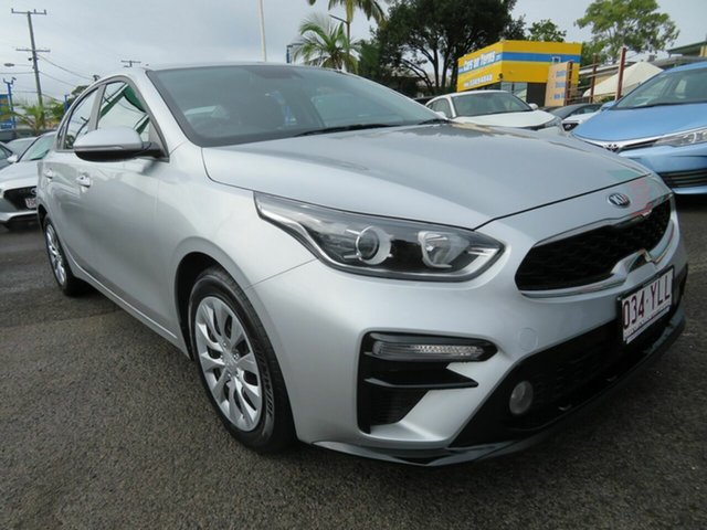 Used Kia Cerato BD MY19 S Mount Gravatt, 2018 Kia Cerato BD MY19 S Silver 6 Speed Sports Automatic Sedan