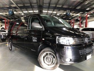 2012 Volkswagen Transporter T5 MY12 TDI400 LWB DSG 4MOTION Black 7 Speed.