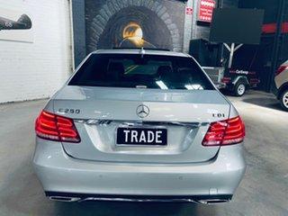 2013 Mercedes-Benz E-Class W212 MY13 E250 CDI 7G-Tronic + Silver 7 Speed Sports Automatic Sedan